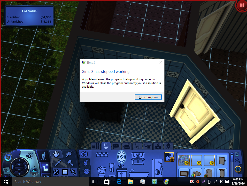 sims 3 not working on windows 10