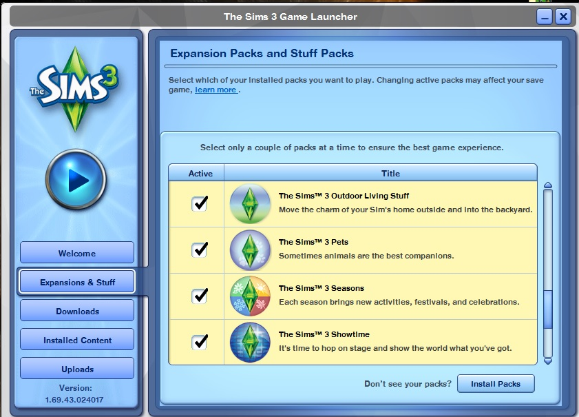 Sims 3 Late Night Expansion Pack, can't find Bridgeport