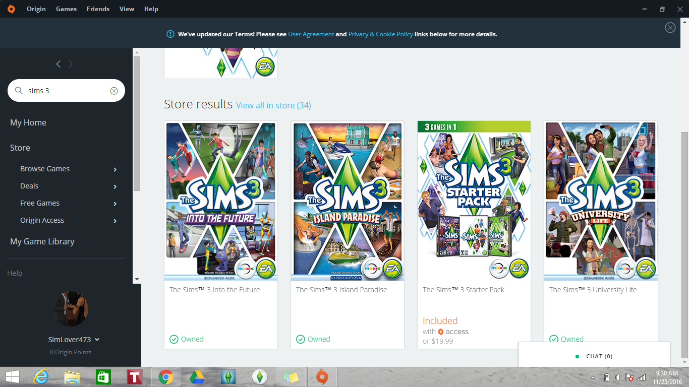 Origin says I own all sims 3 expansion packs but I don't??? - Answer HQ