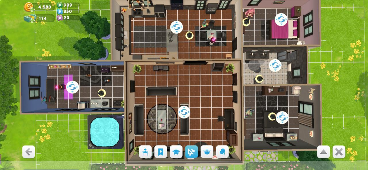 The sims mobile share your house blueprints answer hq malvernweather Image collections