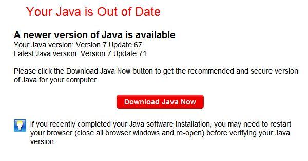 Java 8 update 71 download