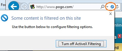 Pogo Games PROBLEM PLAYING