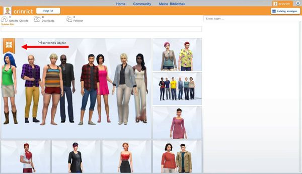 Sims 4 Galerie Präsentation Answer Hq
