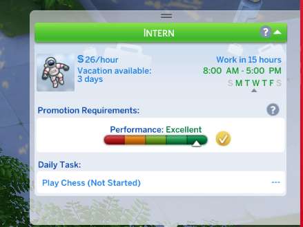 Sims 4 BG Astronaut job A4-at home after 3rd day.png