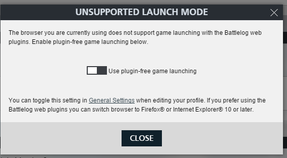 INFO] Plugin Free Game Launching  Required in Chrome