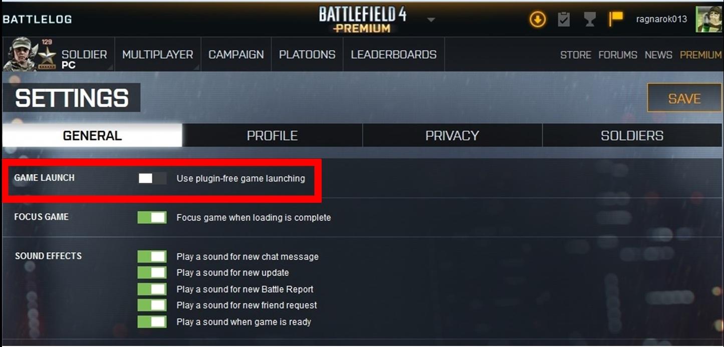Problem with battlelog on chrome — battlefield forums.