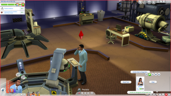 Invite Sims to Hangout Glitch 1.png