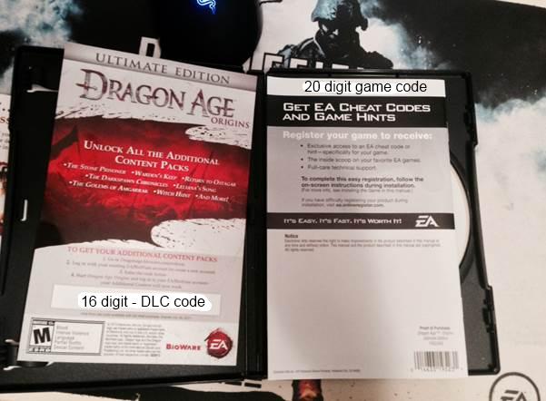 dragon age origins mac activation key