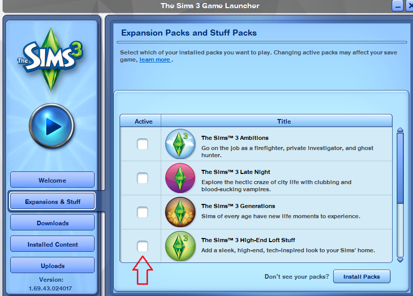 Solved: My Sims 3 Expansion Packs aren't showing up in-game - Page 3