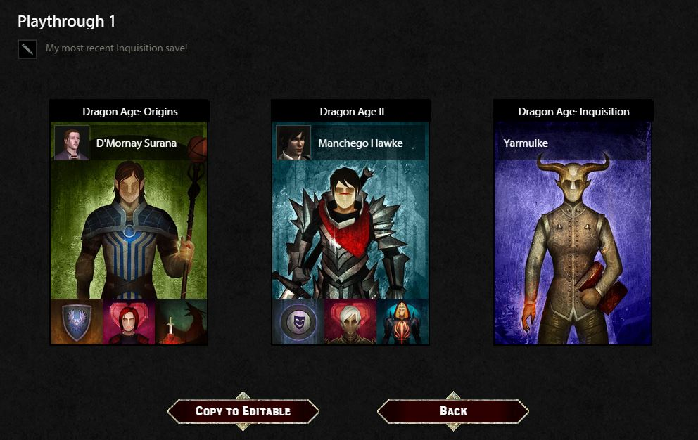 Dragon Age Keep - Tutorials & How To - Page 2 - Answer HQ