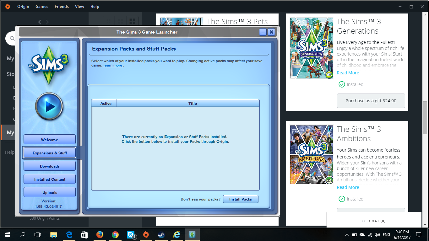 why aren't my sims 3 ep's showing in the sims 3 launcher? - Answer HQ