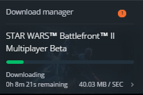 Solved: why are the download speeds extremely slow on origin