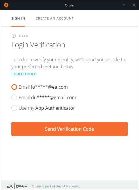 Origin Spotlight - Login Verification Improvements - Answer HQ