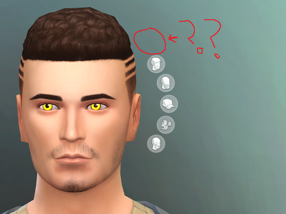 OPEN] [V] Missing facial details category in CAS when using