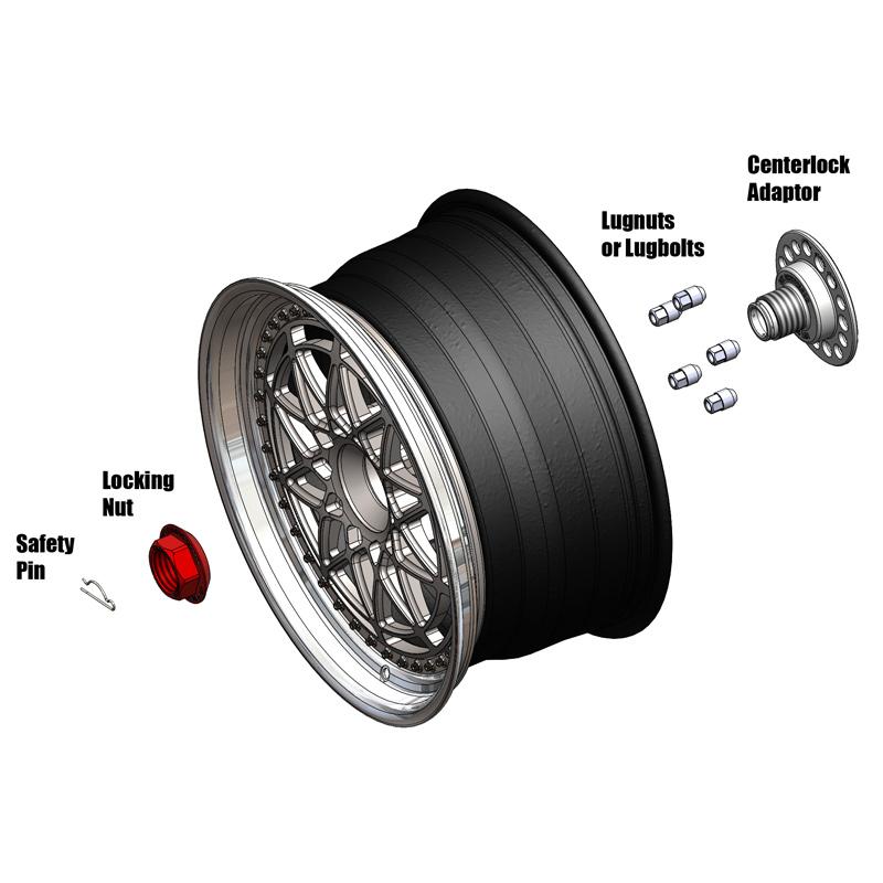 centerlock wheels diagram