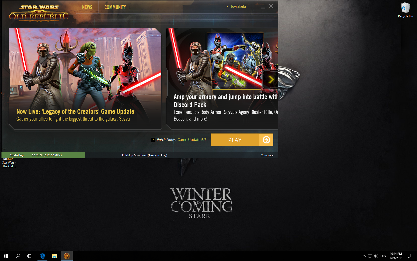 Swtor launcher updating forever site for dating free