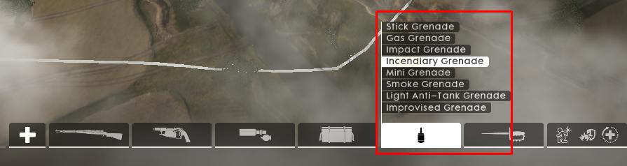 Solved: Cannot use frag grenades, impact grenades