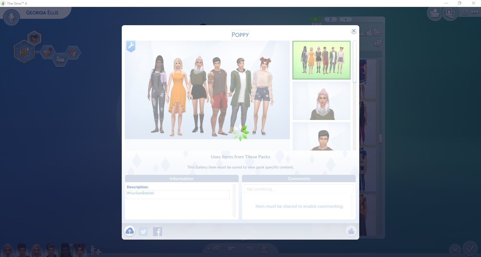 Solved: HELP! - I'm uploading my family to the gallery and