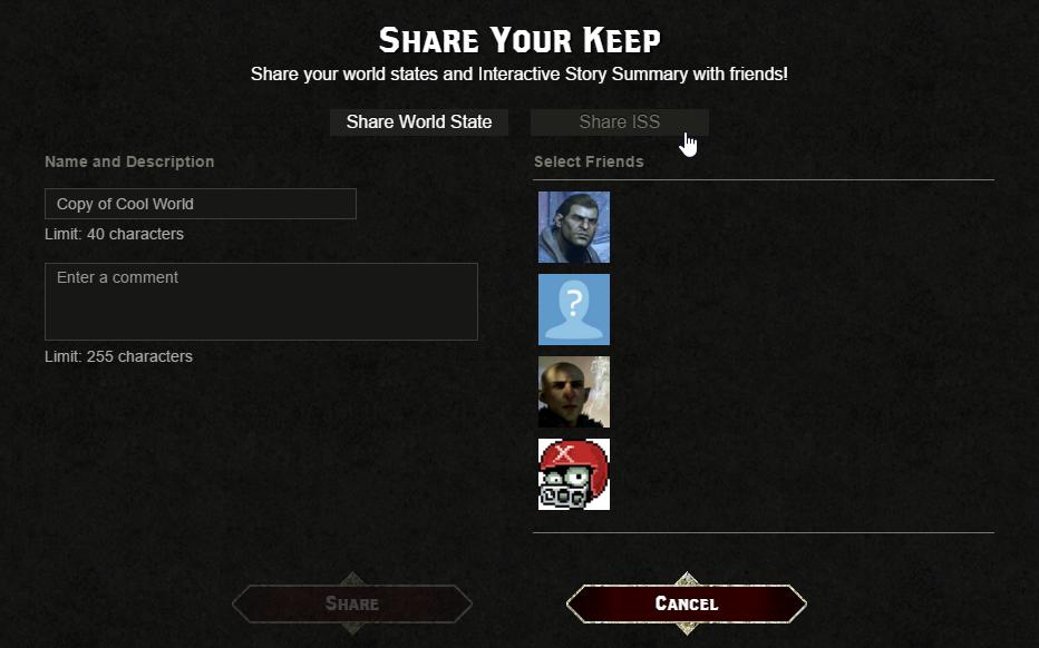 Share keep