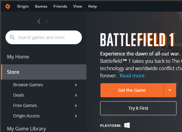 Solved: Where to download the BF1 trial? - Answer HQ