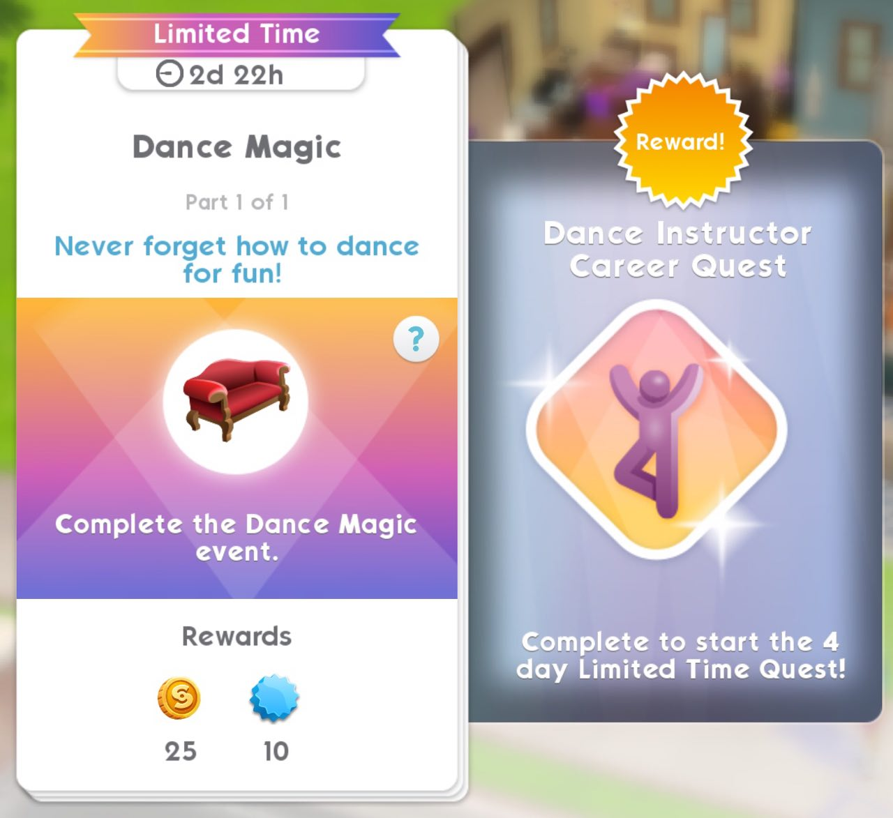 Dance Instructor Career Quest - Available now! - Answer HQ