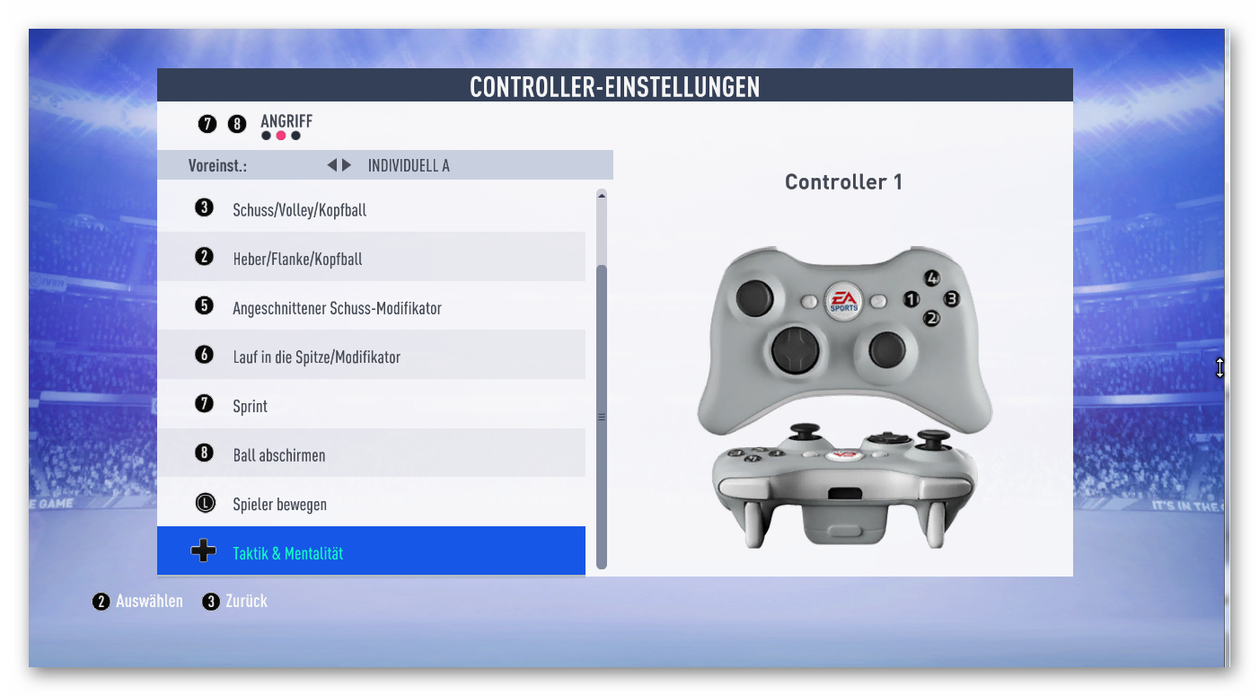 Im Trying To Make A Profile For The 360 Controller Seems The Emulator