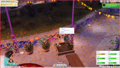 __DEBUG__ plant spawning in game.