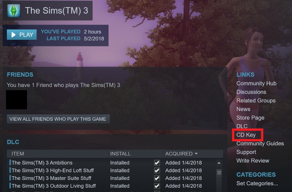 where do i find the serial code from a steam download - Answer HQ