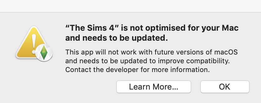 Solved: New update on mac causing sims have an error - Page 4