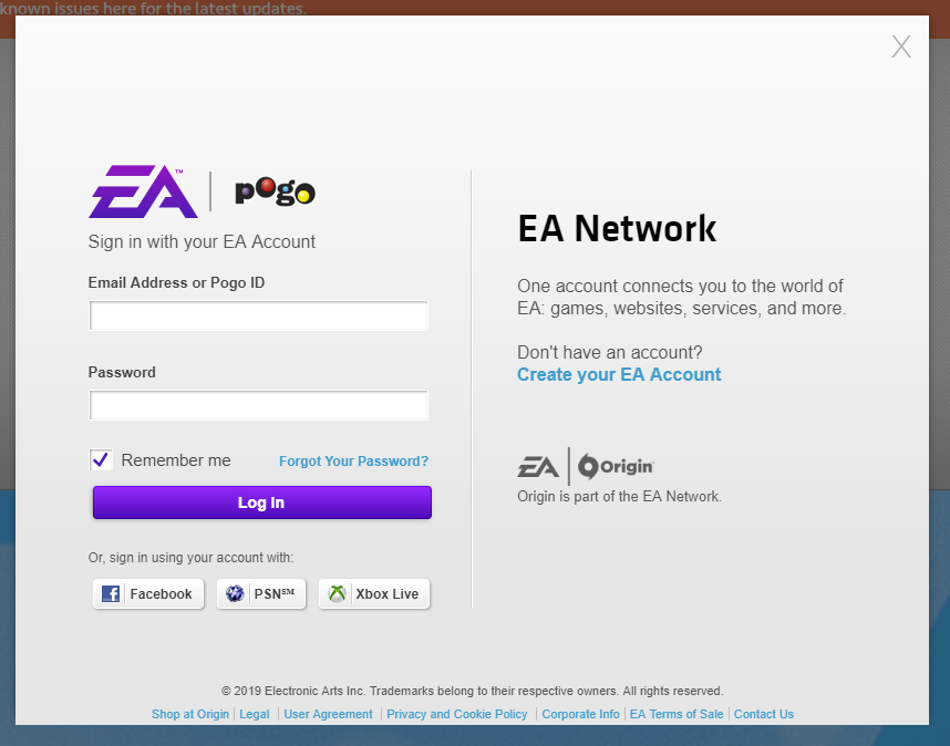 ① - Linking EA account - Answer HQ