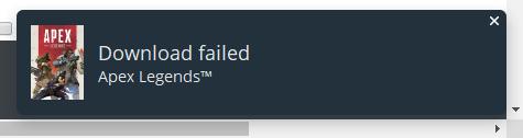Apex] Origin Installation Issues - Answer HQ