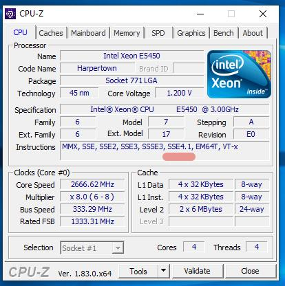Solved: Cpu does not have POPC...