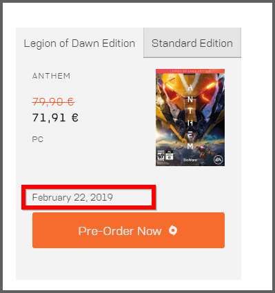Can't refund Anthem Game after paying EA access - Answer HQ