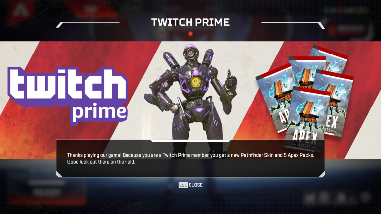 Solved: Me nor any of my friends got the Twitch Prime Loot Pack
