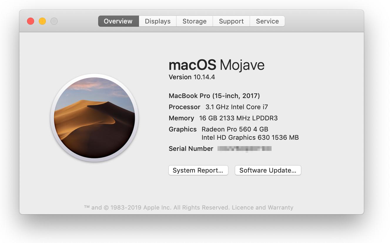 Macbook pro software update not working remotely