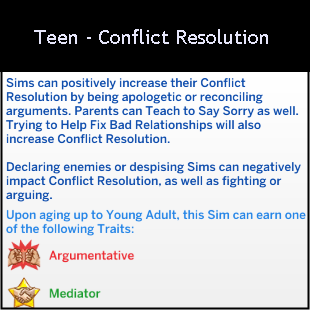 Character Value - Conflict Resolution