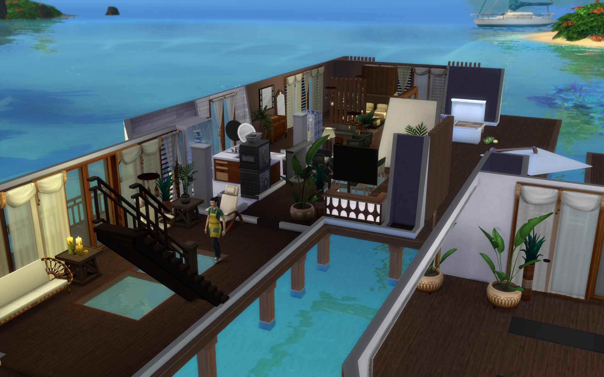 NPC's wandering through sims house