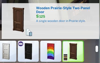 Base game door