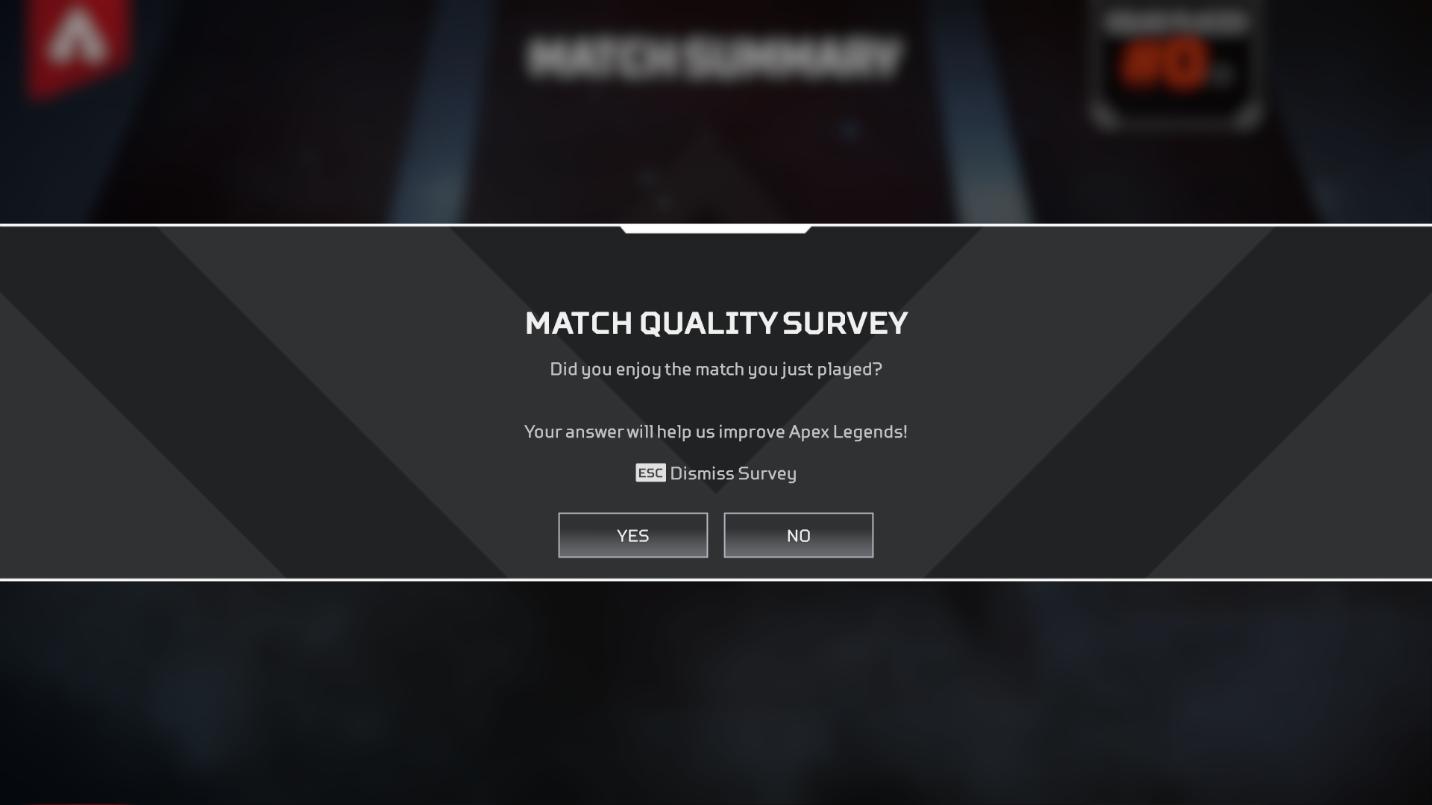 ne priorité faible affectent le matchmaking d'équipe