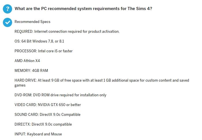 Sims 4 Windows 8? - Answer HQ