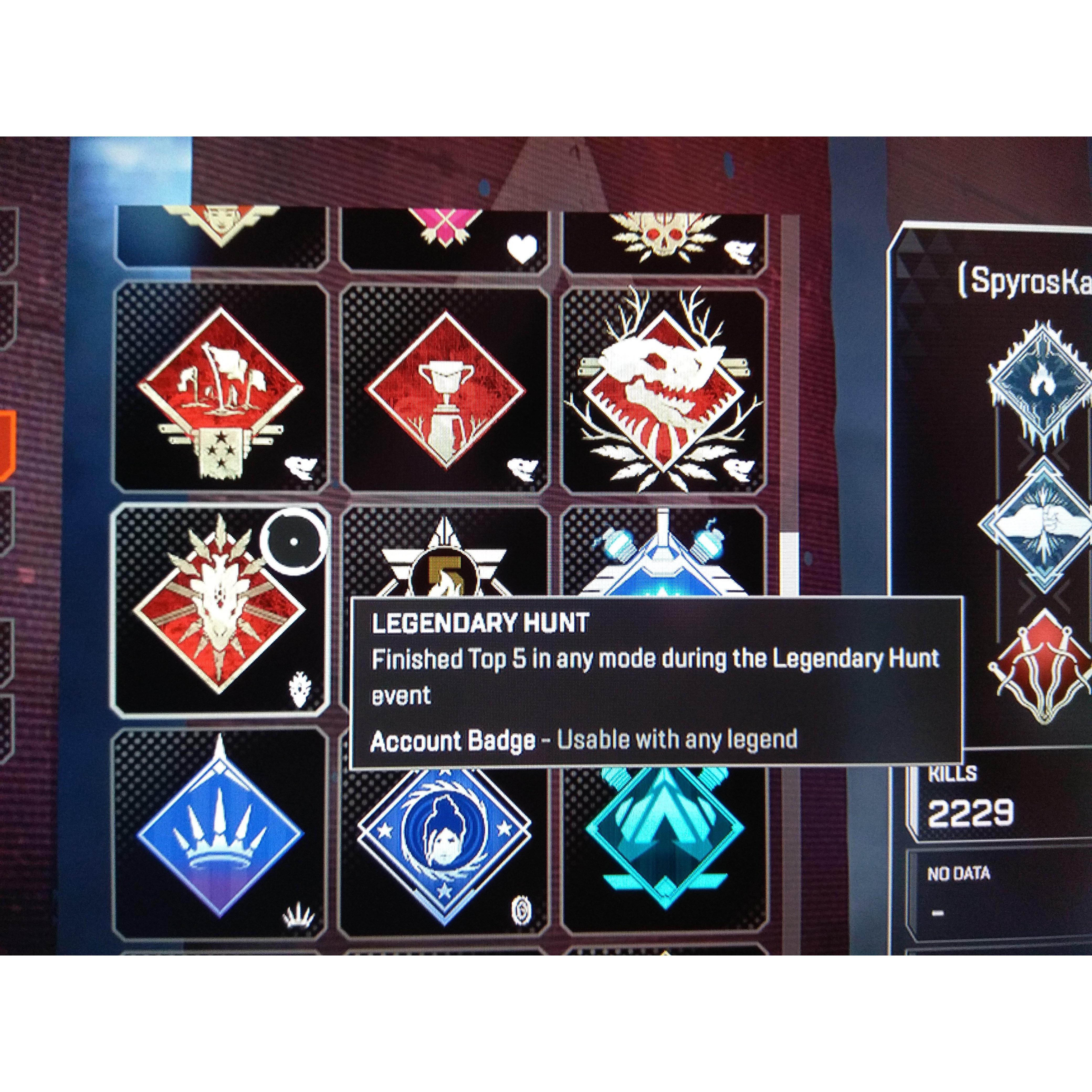 Apex Season 1 Badges