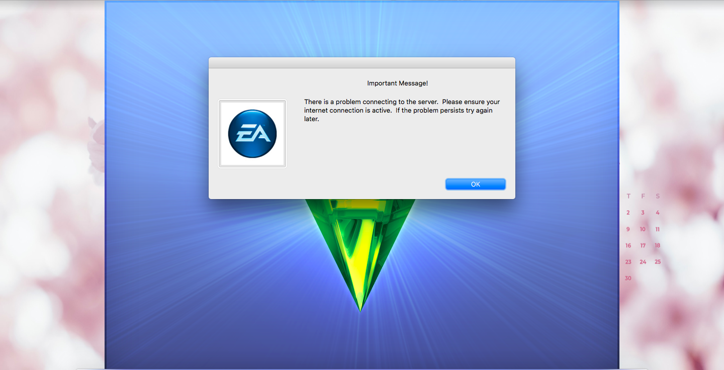 """Solved: Sims 3 - """"There is a problem connecting to the server...""""  installation error - Answer HQ"""
