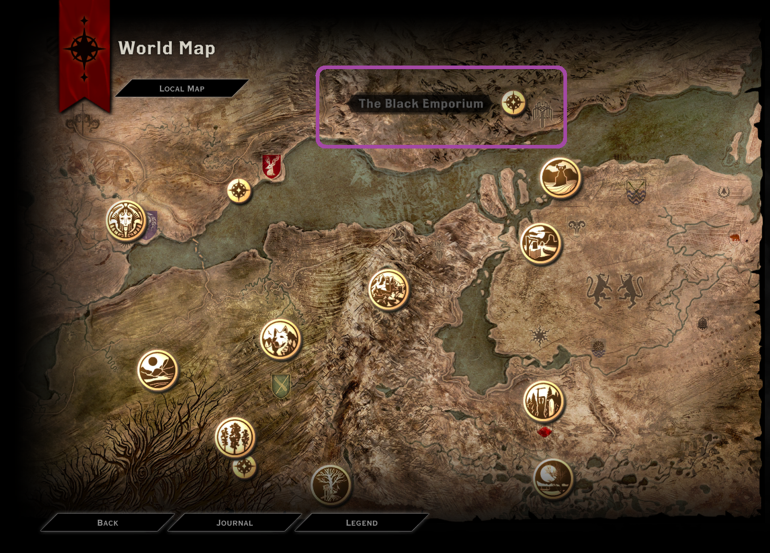 Solved cannot find the black emporium on the war table pc answer hq gumiabroncs Image collections