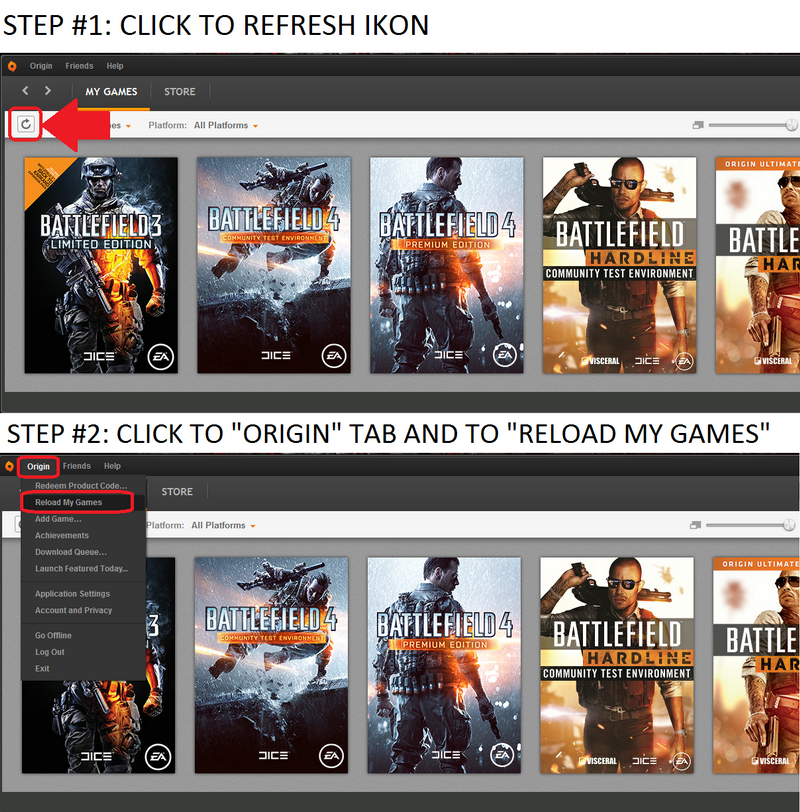 i redeemed a code from g2a and the game did show up in my games