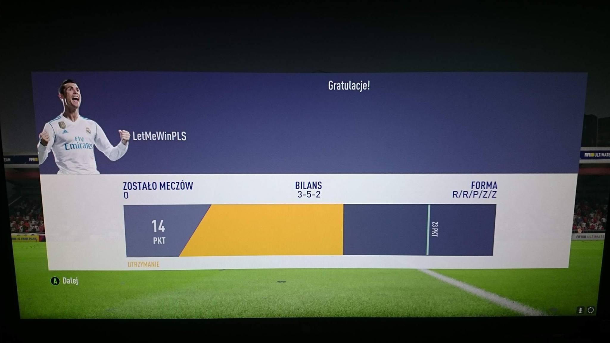 Winning division 1 fifa 18 ut jorge guagua fifa 18