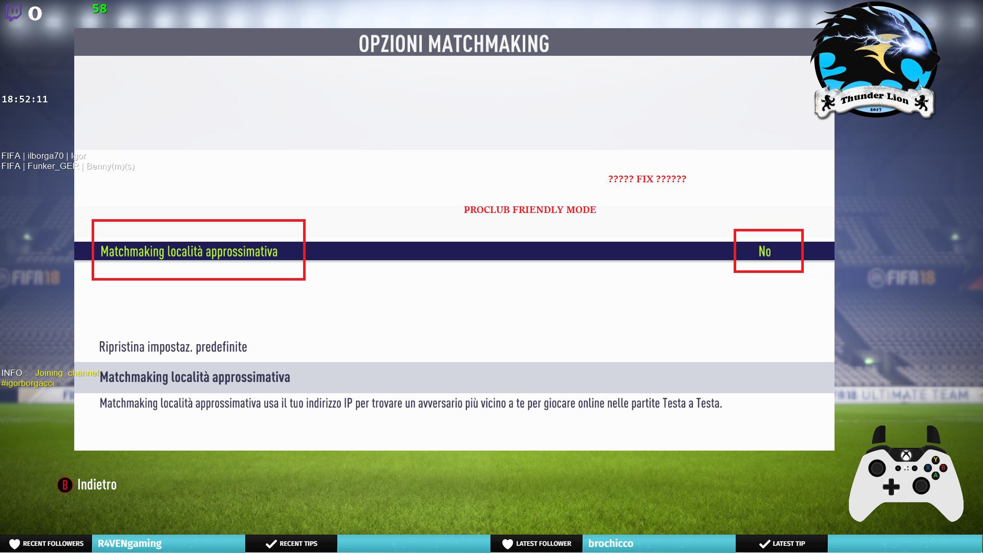 Options matchmaking