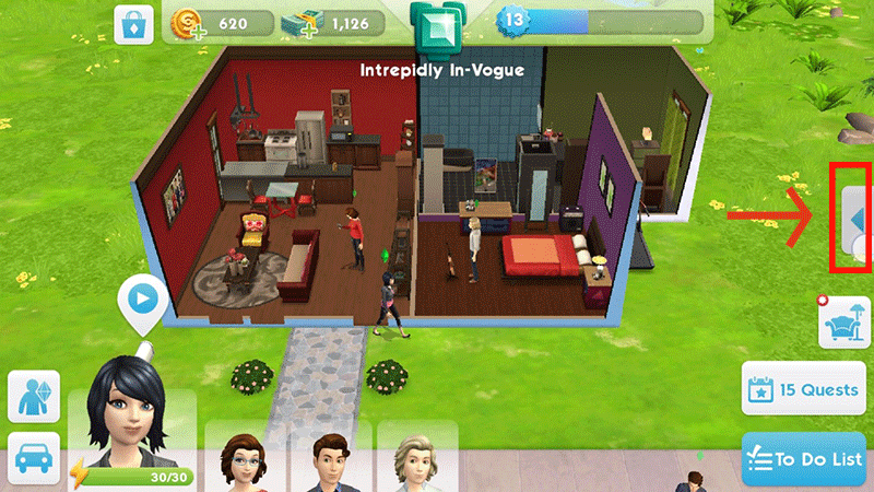cara cheat the sims mobile