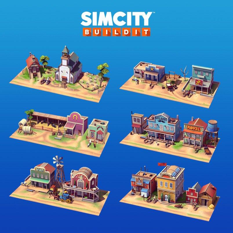 Simcity Buildit Season  Buildings