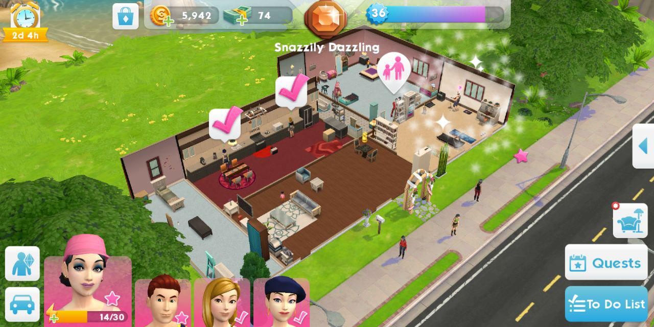 The sims mobile share your house blueprints answer hq 22g malvernweather Image collections