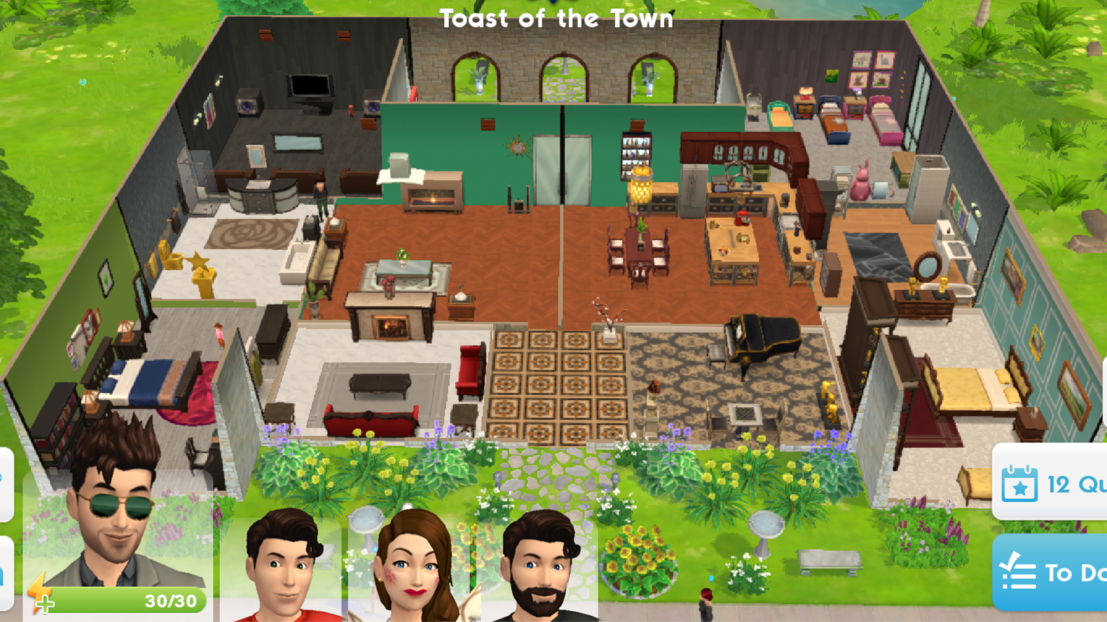 The Sims Mobile Share Your House Blueprints Page 4 Answer Hq